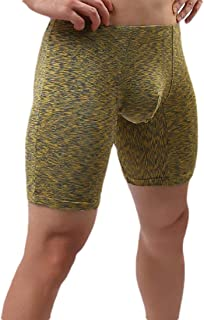 Mogogo Mens Active Low-Waist Breathable Soft Underpants Boxer Brief