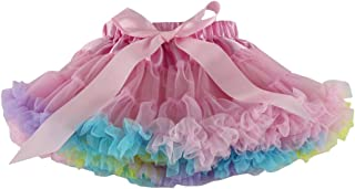 Wennikids Little Girl's Dance Chiffon Pettiskirts Tutu Assorted Size and Color