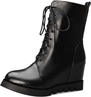 MisaKinsa Women Fashion Wedge Heels Booties