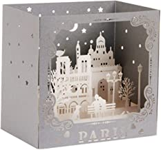3D Pop Up Sculpture Greeting Cards Christmas Birthday Valentine Invitation Paris