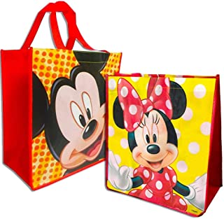 Disney Mickey and Minnie Mouse Reusable Tote Set