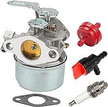 ATVATP Carburetor for Tecumseh 632107 632107A 640084 640084A 640084B HS50 HSK40 HSK50 HSSK40 HSSK50 HSSK55 LH195SA LH195SP OHSK110 OHSK120 OHSK125 Snow Blower