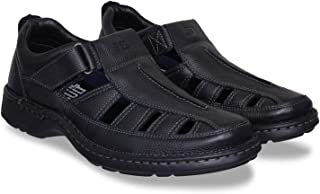 ID Men's Black Sandals