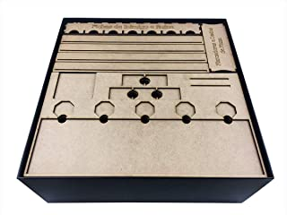 Organizador (insert) Para Mage Knight - Edição Definitiva (premium) Bucaneiros Jogos Bucaneiros Jogos Madeira