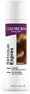 COLORCREM tinte marrón retoca raíces expres spray 75 ml