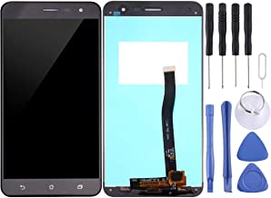 Jiangym Mobile Phone LCD Screen LCD Screen and Digitizer Full Assembly for Asus ZenFone 3 / ZE552KL (Black) LCD Screen (Co...