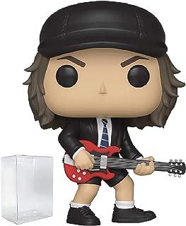 Funko Rocks: AC/DC Angus Young Pop! Vinyl Figure (Includes Compatible Pop Box Protector Case)