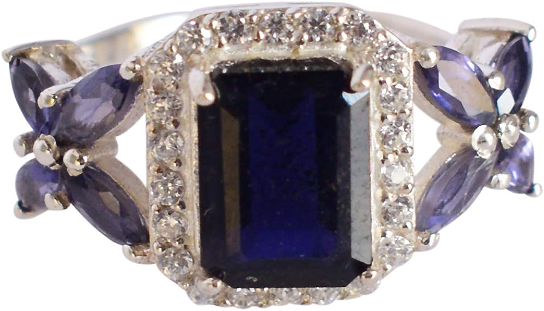 Finally popular brand Ravishing Impressions Exclusive Iolite 925 Sterli Popular standard Solid Gemstone