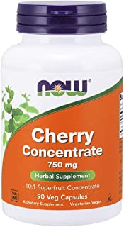 Now Foods Cherry Concentrate  750 Milligrams, 90 Vcaps