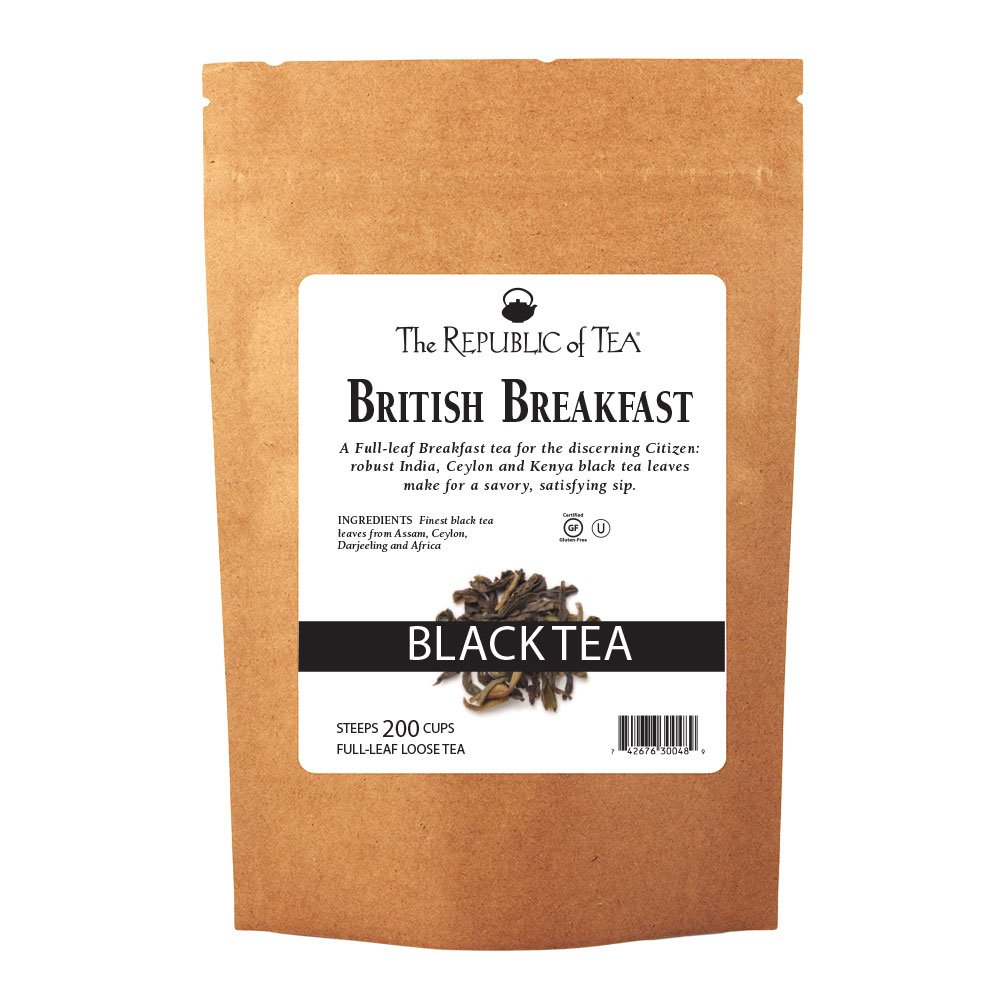 Cheap Indianapolis Mall bargain The Republic of Tea British Breakfast Full-Leaf Loose Black