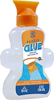 MasterPieces Accessories, Jigsaw Puzzle Piece Shaped Glue Bottle, with Swivel Spreader..
