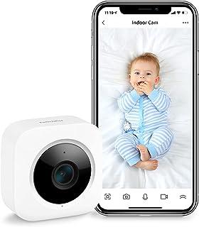 SwitchBot Wewnętrzna kamera bezpieczeństwa, wykrywanie ruchu do telefonu dziecięcego 1080p Smart WLAN kamera monitorująca ...