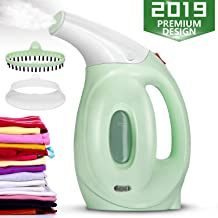 Sounwill Steamer for Clothes, Handheld Clothes Steamer, Portable Travel Garment Steamer to Remove Wrinkles/Soften/Clean/Sanitize, Fabric Steamer Iron with Fast Heat-up, Auto Safety Protection-160 ml