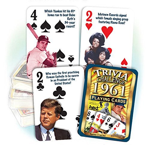 1961 Trivia Playing Cards