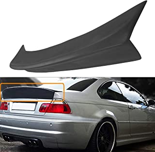 FidgetKute Duckbill HighKick Trunk Spoiler Wing M3 CSL Style Fits BMW E46 2DR Coupe 2001-06