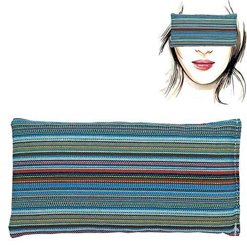 Almohada para los ojos 'Alpujarreña' | Semillas de Lavanda y arroz | Yoga, Meditación, Relajación, descanso de ojos...
