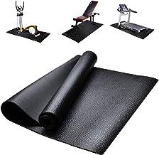 Loopbandmat, vloerbeschermer, fitnessapparatuur en oefenmat, antislip schokbestendige vloerbeschermermat voor loopbanden, ...