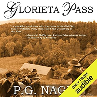 Glorieta Pass audiobook cover art
