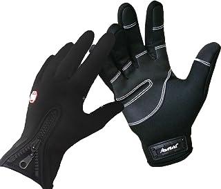 Andyshi Gloves Men Women Winter Outdoor Sports Anti-Slip Windproof Waterproof Touch..