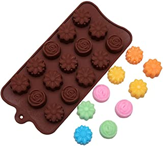 Cavity Silicone Flower Rose Chocolate Cake Soap Mold Baking Ice Tray Mould
