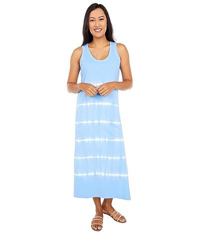 Vineyard Vines Tie-Dyed Knit Maxi Dress (Bimini Blue V2) Women