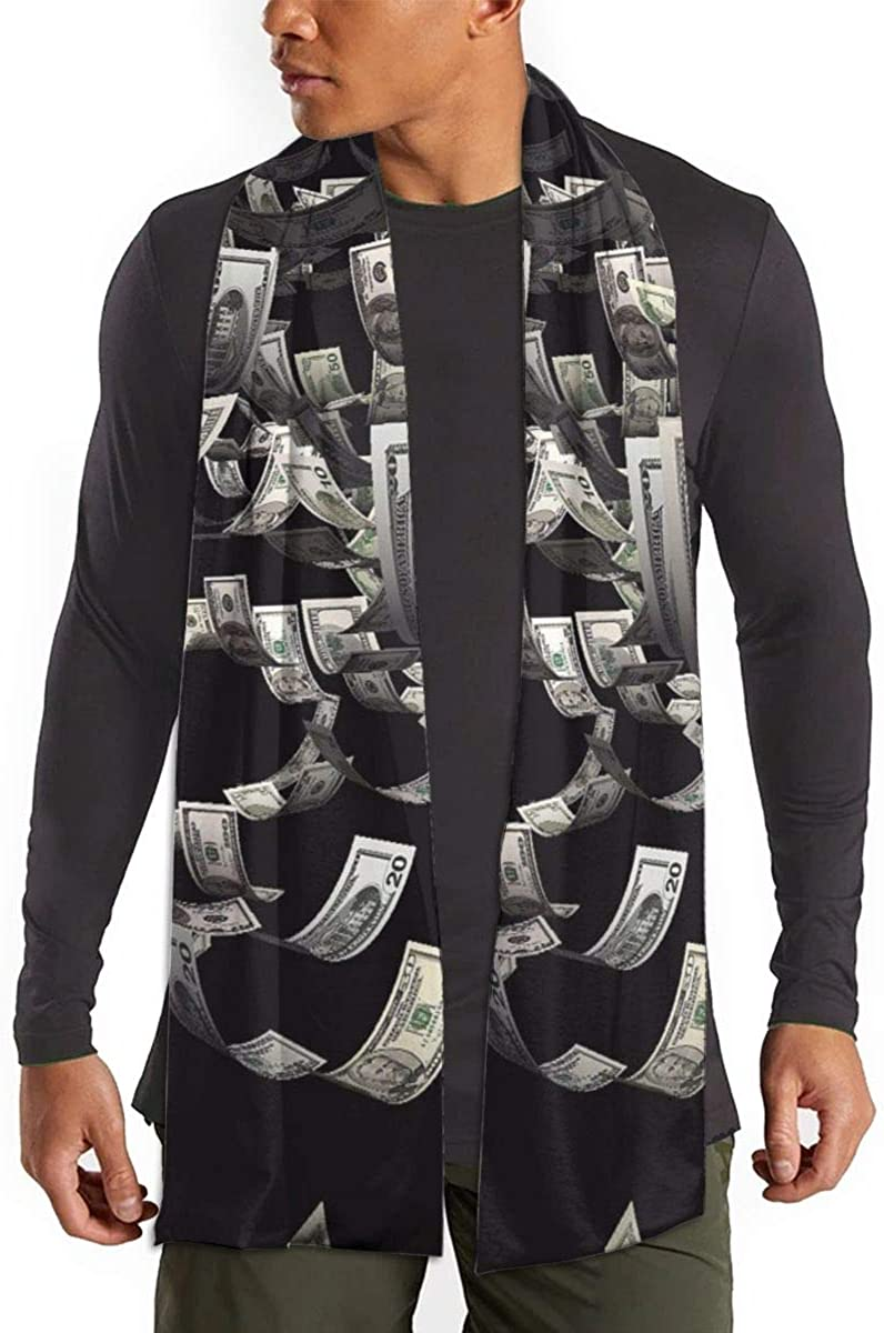 Winter Warm Scarf cape Outdoor/Home/Office Unisex(Money Painting)