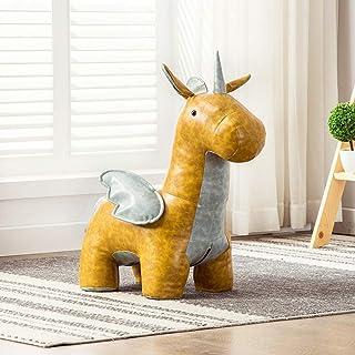 XiaoMin Sofá Taburete - Banco de sofá de Pony Minimalista Moderno, Puente móvil, Dormitorio, Sala de Estar, Sala de Estudio, Banco de sofá Hermoso (tamaño 75X80CM) Reposapiés casero (Color : C)