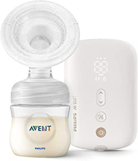 Philips Avent Single Electric Breast Pump with Battery, SCF396/11