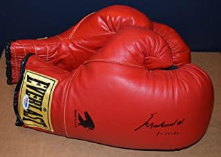 b2e1cddba1a Muhammad Ali Signed Everlast Boxing Glove with Inscription AB08940 -  PSA DNA Certified - Autographed