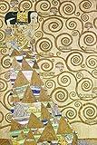 Artland Alte Meister Kunst Wandtattoo Gustav Klimt Bilder Art Nouveau 60 x 40 cm Die Erwartung Vorlage zum Stocletfries Kunstdruck Klebefolie Gemälde R0HJ