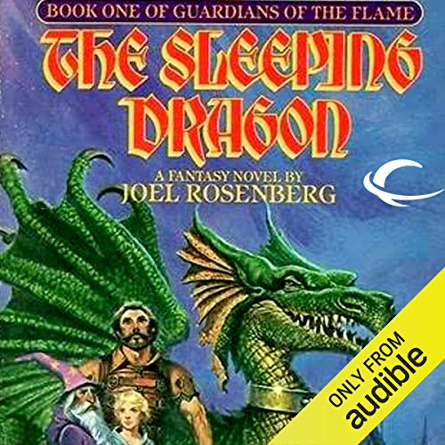 The Sleeping Dragon audiobook cover art