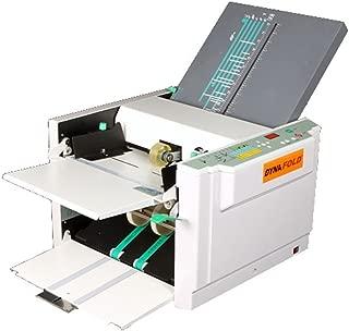 Dynafold DE-380 Commercial Grade High Performance Digital Paper Folder, Easy operation, Error Detection, Jam Sensor, Eject Sensor, Variable Speed, Load Up to 500 Sheets, Electronic Counter