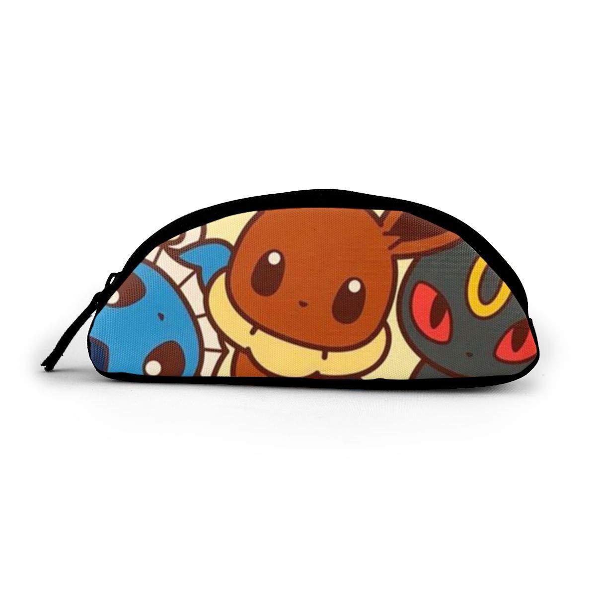 Pikachu and Leiqiu - Estuche de tela con cremallera (tamaño grande), diseño de círculos: Amazon.es: Oficina y papelería