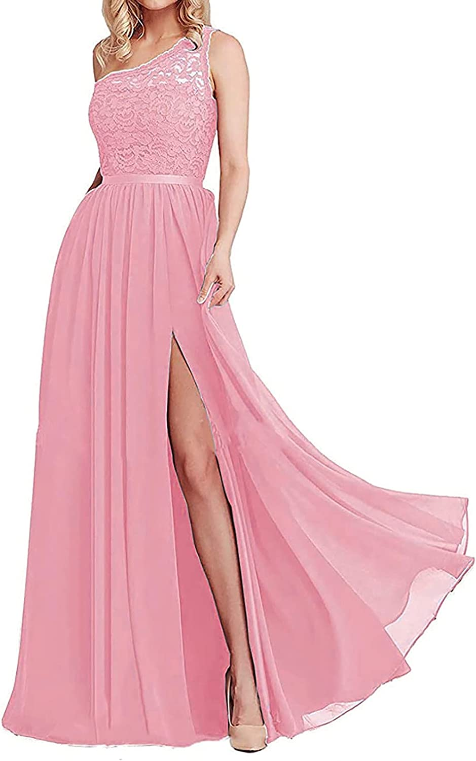 Tulsa Mall Women's One Shoulder Bridesmaid Dresses E Our shop most popular Prom Formal Long Dress