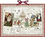 Wonderful Christmas Collage Extra große traditionelle Deutsche Adventskalender 52M breit x 38cm