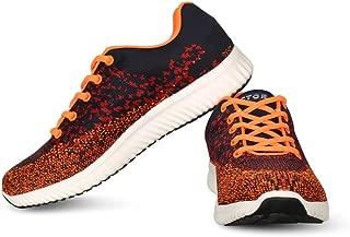 Vector X RS-7030 Men's Running Shoes (Navy-Orange)