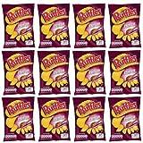 Ruffles Jamón Patatine fritte prosciutto confezione da 12