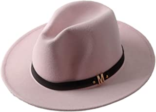 OnLy Shopping Can Heal Me Sombrero de Lana para Hombre Chapeu Feminino Sombrero para el Sol para Caballero ala Ancha Jazz Iglesia Cap Panamá Fedora Sombrero de Sol 20
