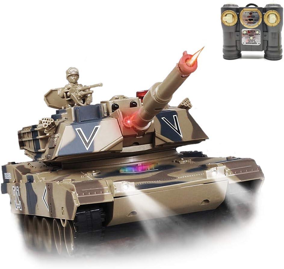 Remote Control Tank for ☆新作入荷☆新品 Boys with RC Effect Smoke 今だけ限定15%OFFクーポン発行中 Lights