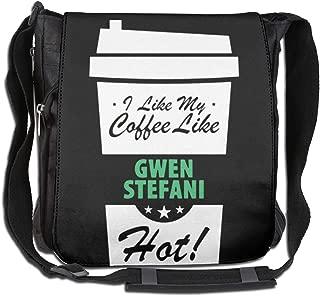 I Like My Coffee Like Gwen Stefani Hot Funny Female Celeb Youths Bag School Backpack