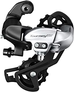 SHIMANO Tourney 7/8-Speed Mountain Bicycle Rear Derailleur - RD-TX800-L