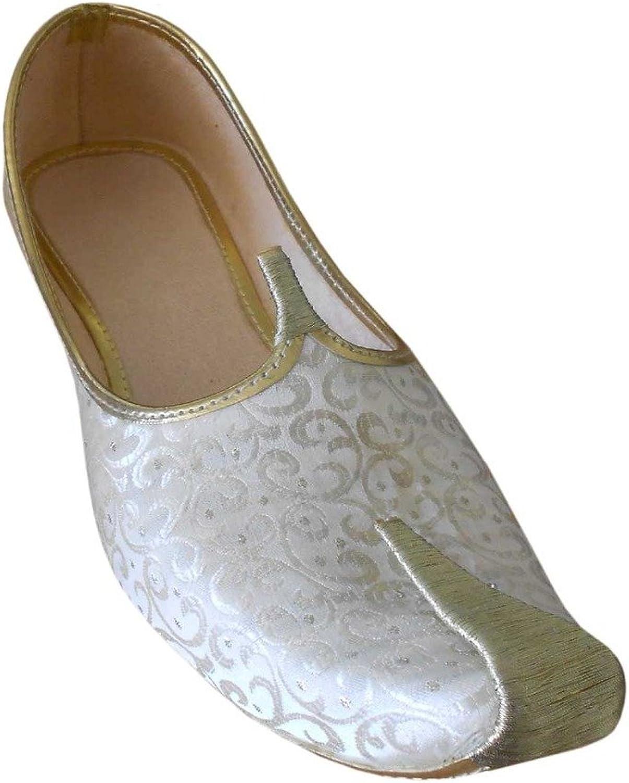 Kalra Creations Men's Mojari Traditional Indian Jutti Groom shoes