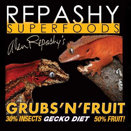 Repashy Grubs 'N' Fruit Crested Gecko Diet 8 Oz (1/2 lb) JAR
