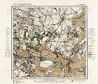 地図1922ライチオフィスベルリン大規模レプリカのポスター印刷PAM0442