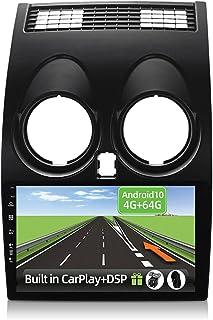 YUNTX Android 10 2 Din Autoradio for Nissan Qashqai J10(2008-2014)-4G+64G-[Ingebouwd CarPlay/Android auto/DSP] -Octa Core-...
