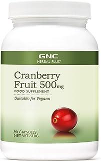 GNC Herbal Plus Cranberry-Fruchtextrakt 500 mg, 90 Kapseln, hilft bei Harnwegsinfektionen