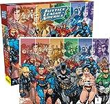 Aquarius DC Comics- Justice League of America Spielset Puzzle, 1000Einzelteile
