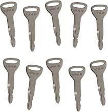 Notonmek 10 PCS Ignition Keys 57591-23330-71 A62597 162597 for Toyota Forklift (10)