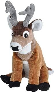 Wild Republic White-Tailed Buck Plush, Stuffed Animal, Plush Toy, Gifts for Kids, Cuddlekins 12 Inches