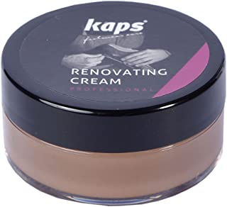 Renovating Repair Cream For Smooth Leather Shoes Bags Seats, Scratch And Scuff Cover, Kaps Renovating Cream, 10 Colours